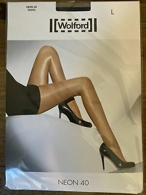 Wolford Neon 40 Tights 16-18 Large Various Colours Navy Anthricite Admiral Nude • 19.99£