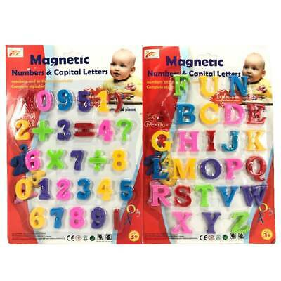 A To Z Magnetic Letters And Numbers Learning Set • 2.99£