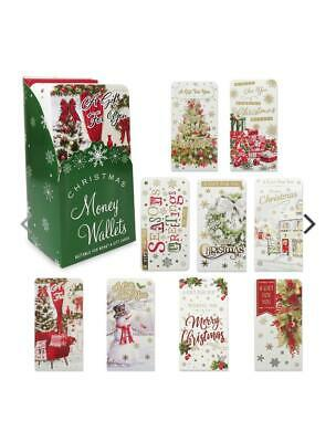 31 Different Luxury Money Gift Card Wallet Santa Kids Classic Xmas 2 For £1.39 • 1.59£