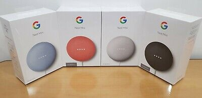AU69.90 • Buy Brand New Google Nest Mini 2nd Generation Smart Speaker Coral Chalk Sky Charcoal