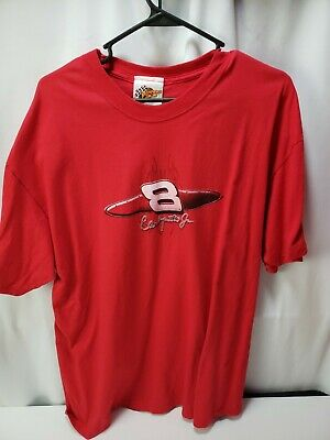$ CDN19.62 • Buy Budweiser Dale Jr T-Shirt Size XL Red Double Sided Chase Authentic