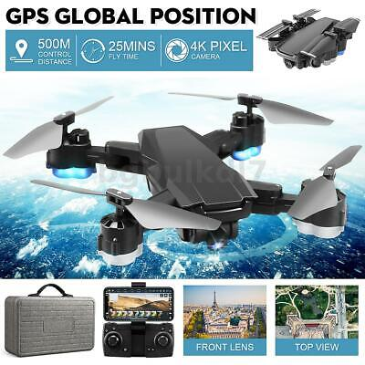AU104.99 • Buy 2.4G RC Drones GPS X Pro With 1080P Camera Wifi FPV Quadcopter Brushless Drone