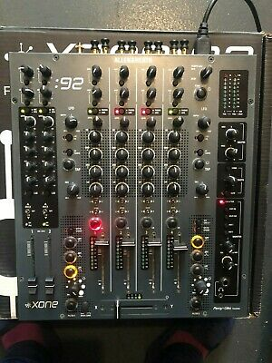 Allen & Heath XONE 92 DJ Mixer - Great Condition - Boxed - Decksaver Cover -Rack • 649.99£