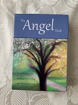 £9.50 • Buy The Angel Deck - 50 Simple Meditations For Everyday