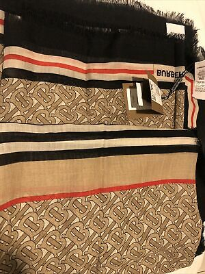 Burberry Mega Check Cashmere Scarf. Brand New With Tags. RRP £290 • 270£