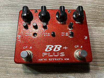 Xotic Effects BB Preamp Plus - Guitar Preamp/Overdrive/Distortion - Made In USA • 100£