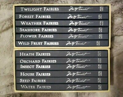 Full Box Set Of 12 Margaret Tarrant ILLUSTRATED Fairies & Flowers Books Unread • 75£
