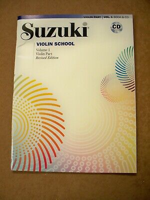 AU26.08 • Buy Suzuki Violin School Vol 1 Revised Edition Cd Included