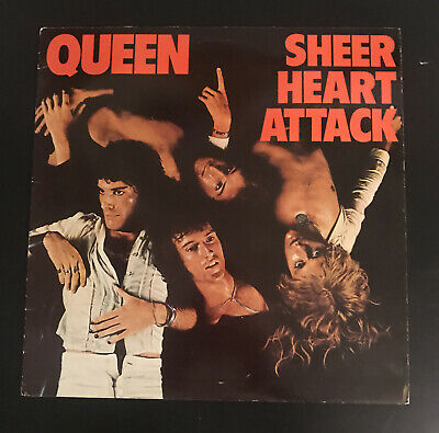 Queen- Sheer Heart Attack, Vinyl Record, Canadian Pressing • 9.50£