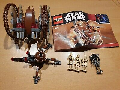 Lego Star Wars Hailfire Droid & Super Droid Set #7670 With Instructions • 22.99£