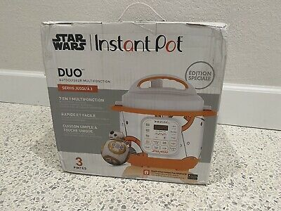 $ CDN163.34 • Buy Star Wars Instant Pot Limited SPECIAL EDITION 3 Quart New BB-8 BRAND NEW BB8