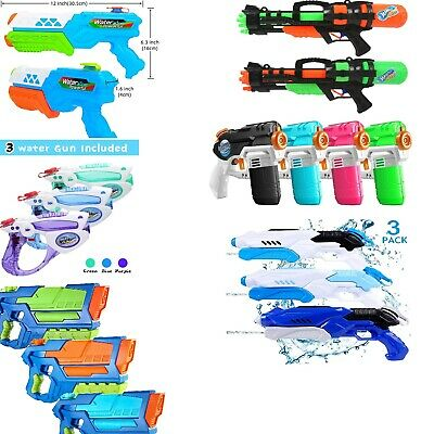 AU39.99 • Buy Nerf Super Soaker, Water Guns, 2, 3 And 4 Pack, Water Blaster, Water Balloons