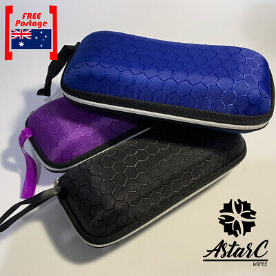 AU8.64 • Buy Sunglasses Hard Case Eye Glasses Zipper Portable Holder Protector Box-AstarC