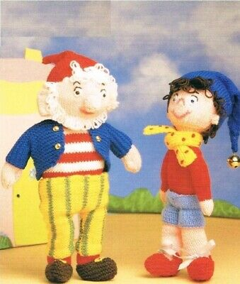 Noddy And Big Ears Toy Vintage Knitting Pattern • 1.50£