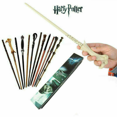 Magic Wand Harry Potter Hermione Dumbledore Voldemort Wand Cosplay Gift Boxed • 6.99£