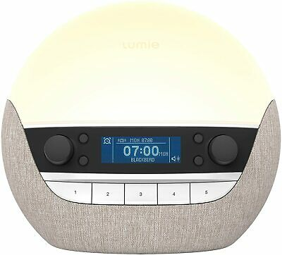 Lumie Bodyclock Luxe 700FM - Wake-Up Light With FM Radio, Bluetooth Speakers...  • 182.36£