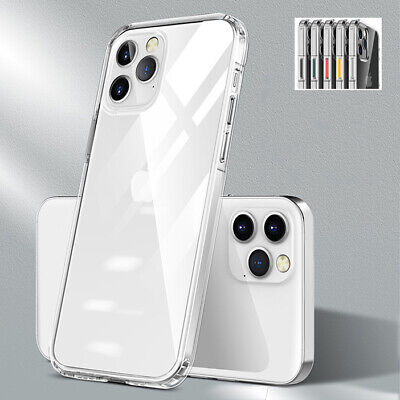 AU9.99 • Buy For IPhone 12/Pro/Max/Mini Clear Silicone Bumper Case Shockproof Hybrid Cover