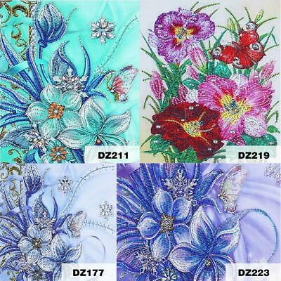 AU12.99 • Buy DIY Special Shaped Diamond Painting Butterfly Cross Stitch Needlework Wall Art