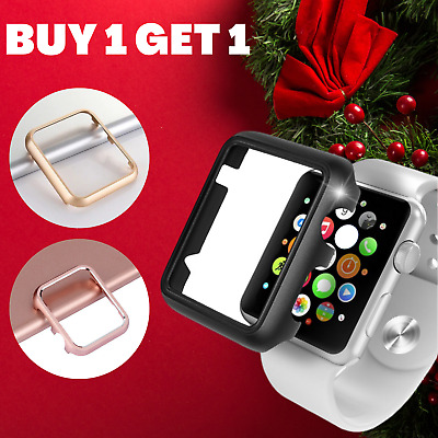 AU6.89 • Buy Aluminium Protective Case Cover For Apple Watch Series 3 2 1 42mm