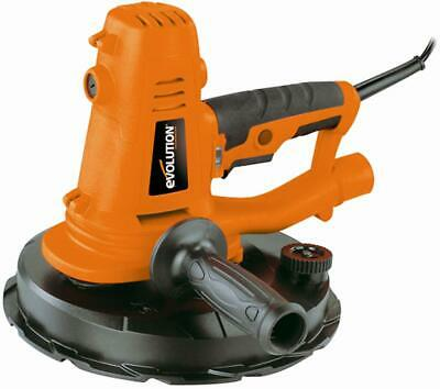 EVOLUTION - EB225DWSHH - 225mm 1050W Hand Held Plaster / Wall Sander 230V • 134.99£