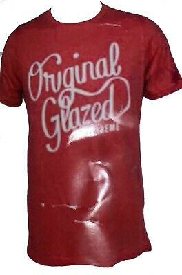 $19.99 • Buy Krispy Kreme Original Glazed Red Men's T-Shirt Large