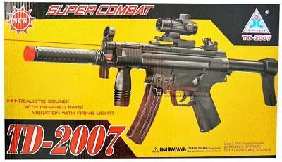 $24.99 • Buy A&N Battery Operated Super Electric MP5 Style ToyGun Light Sound Vibration Flash