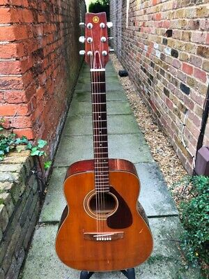 Yamaha FG-200 Acoustic Guitar (upgraded & Professionally Setup - Ready To Play) • 425£