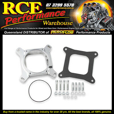 AU249.44 • Buy HO 17-94 Holley EFI 4150 To 105mm LS Drive By Wire Throttle Body Adapter
