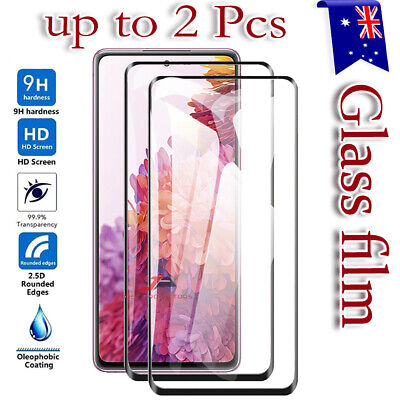 AU6.95 • Buy For Samsung Galaxy S20 FE S10 S8 S9 Plus Note 20 Tempered Glass Screen Protector