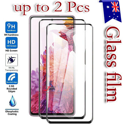 AU6.95 • Buy For Samsung Galaxy S20 FE S21 S10 S8 S9 Plus 10e Tempered Glass Screen Protector