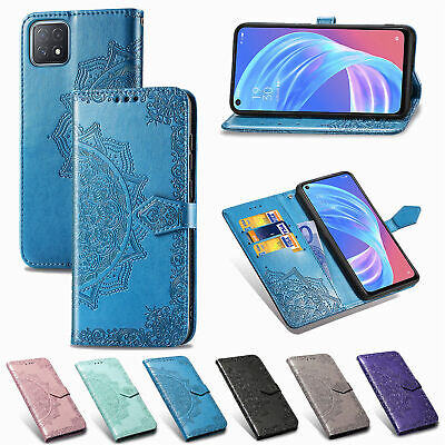 AU9.05 • Buy Mandala Wallet Flip Leather Case Cover For OPPO Realme C15 X7 Pro A53 2020 A72