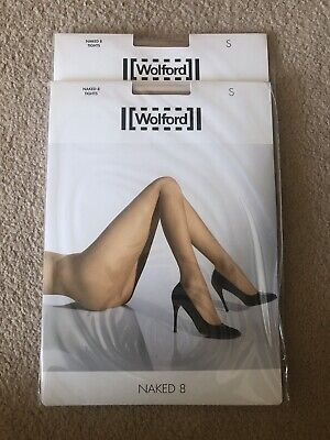 Wolford 2 Pairs Tights Naked 8 Gobi - Size S - Brand New • 6.50£