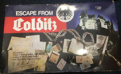 Vintage Escape From Colditz Board Game From Parker Brothers Complete  • 38£
