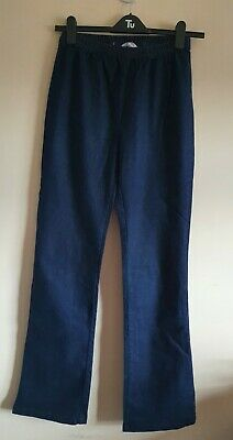 Ladies Dark Blue Elasticated Waist Bootcut Jeans From Simply Be Size 14 • 0.99£