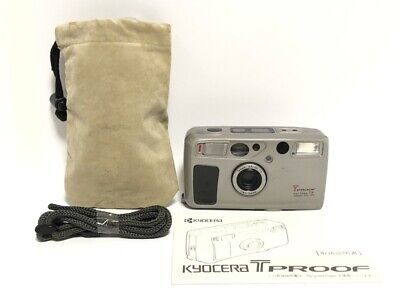 AU776.89 • Buy NEAR MINT In Case Kyocera T Proof Yashica T5 T4 Super Point & Shoot From Japan