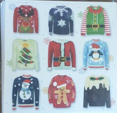 One Pack Of 10 Charity Christmas Cards - Nine Jumpers  • 1.50£