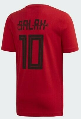 New Adidas Mo Salah 10 Graphic T Shirt - SMALL - Liverpool Shirt - Exclusive • 29.99£