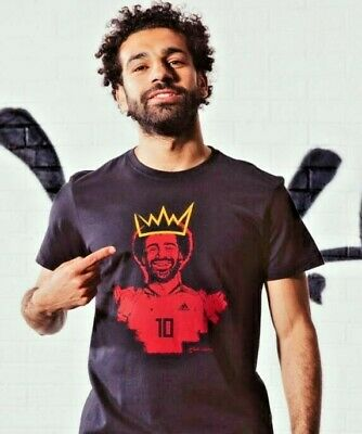 NEW Adidas Mo Salah Liverpool Player T-Shirt   - Liverpool Shirt - Exclusive • 29.99£
