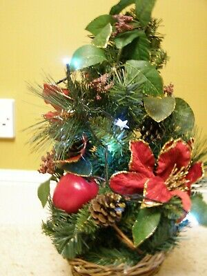 Christmas Table Centrepiece Decoration Or Small Tree - Decorated  • 4.95£