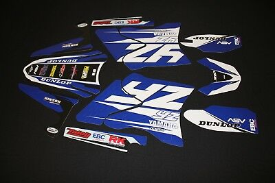 AU117 • Buy Yamaha Yz125 - Yz250 2006-2014 Spec Series Mx Graphics Kit Sticker Kit Stickers