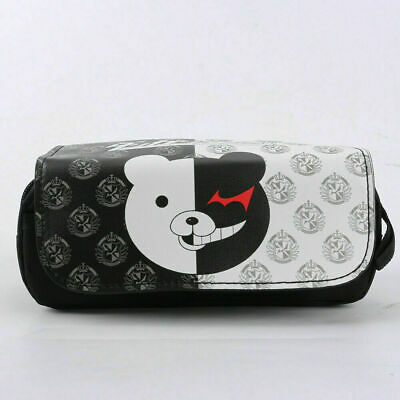 NEW High Capacity Anime Danganronpa Monokuma Pencil Case! Stationary Bag  • 8.99£