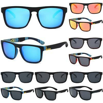 AU13.10 • Buy Mens Polarized Sunglasses Polarised New Style Mirror Square Frame UV400 Glasses