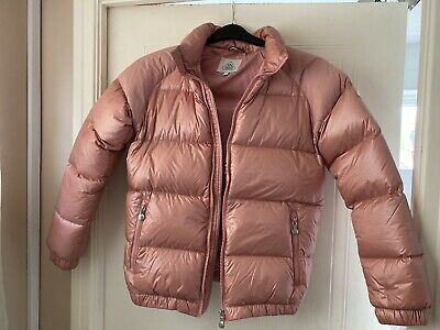 £85 • Buy Girls Pink Pyrenex Padded Coat Age 14 Excellent Condition
