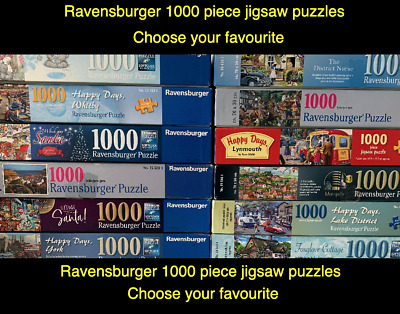 RAVENSBURGER - 1000 Piece Jigsaw Puzzle - MULTI LISTING - CHOOSE YOUR OWN (2) • 9.99£