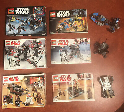 LEGO Star Wars 75198 75197 75167 Sets Complete With Instructions & Boxes • 17.50£