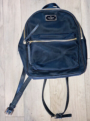 $ CDN68.12 • Buy Kate Spade New York Women Black Mini Bradley Backpack Nylon