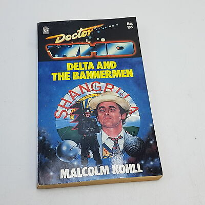 Doctor Who DELTA AND THE BANNERMEN (1989) 1st Ed. Target Paperback [VG] • 8.99£