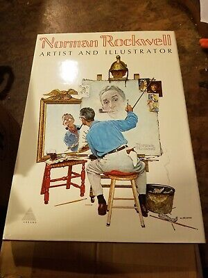 $ CDN163.64 • Buy NEW Vintage 1970 Norman Rockwell Artist And Illustrator Oversize Hard Cover Book