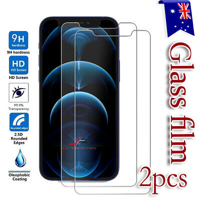 AU4.99 • Buy IPhone 12 11 Pro XS Max Mini XR X SE 8 Tempered Glass Screen Protector For Apple