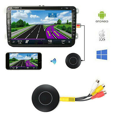 £19.89 • Buy HDMI+AV Wireless Mirroring Multiple Adapter Miracast Dongle TV Stick Fit For Car
